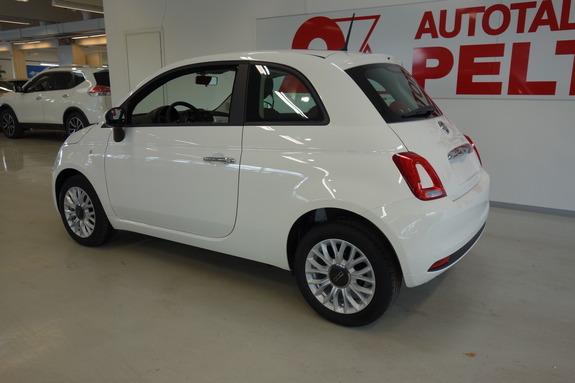 Fiat 500 1,2 69hv PopStar Start&Stop, Monikäyttö, Manuaali, Bensiini, XOX-332, kuva 4/10